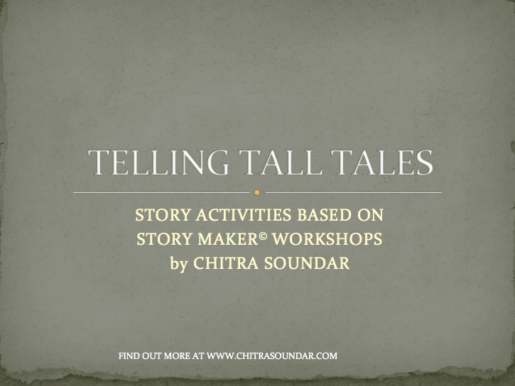Tall Tales - Writing Activity for KS2