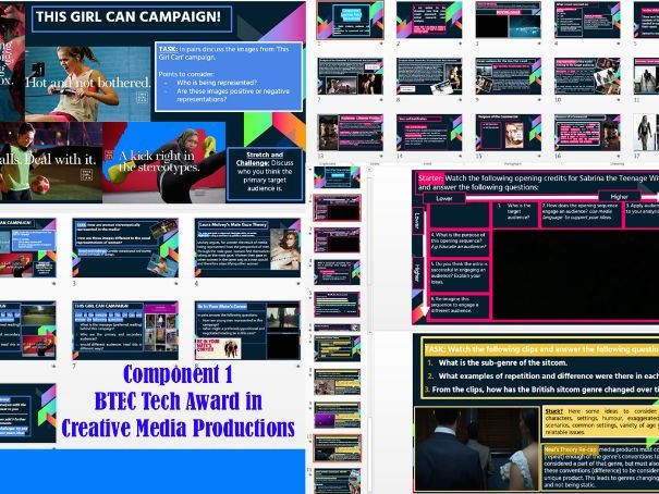 BTEC Tech Award in Creative Media Productions- Component 1