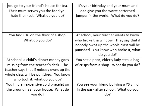 Formal Argument Year 5