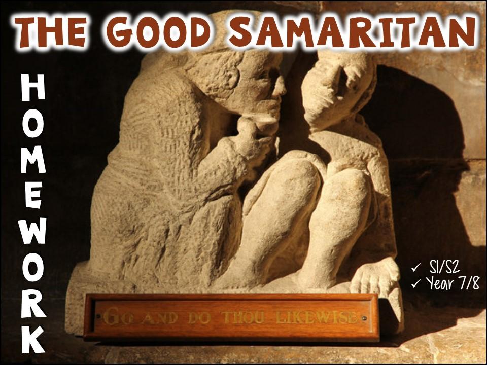 The Good Samaritan homework