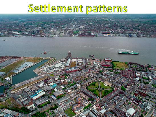 KS3 Settlements - Settlement Patterns