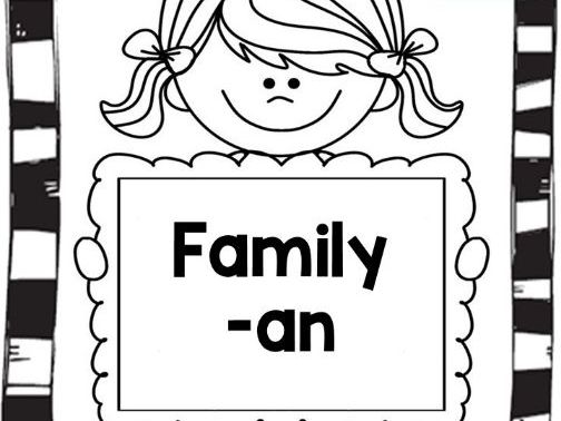 Word Family -AN