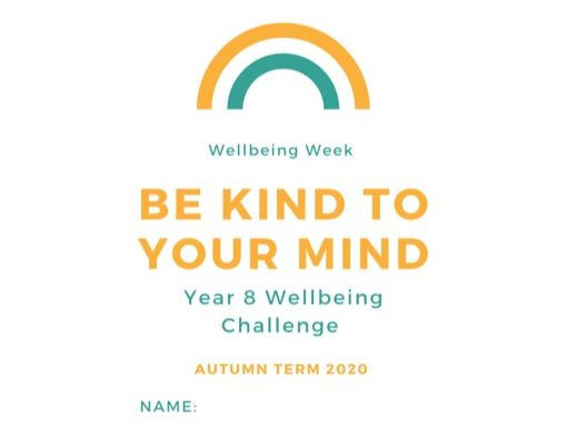 Mental Health Week Challenge