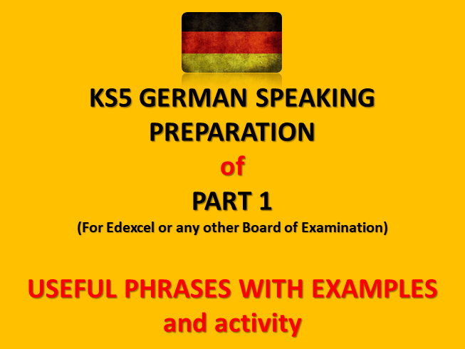 KS5 GERMAN