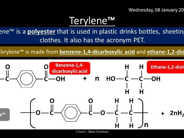 NEW AQA Yr2 Polymers Revision