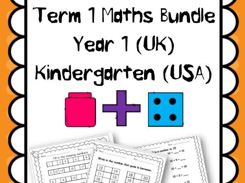 Year 1 Term 1 Maths Revision
