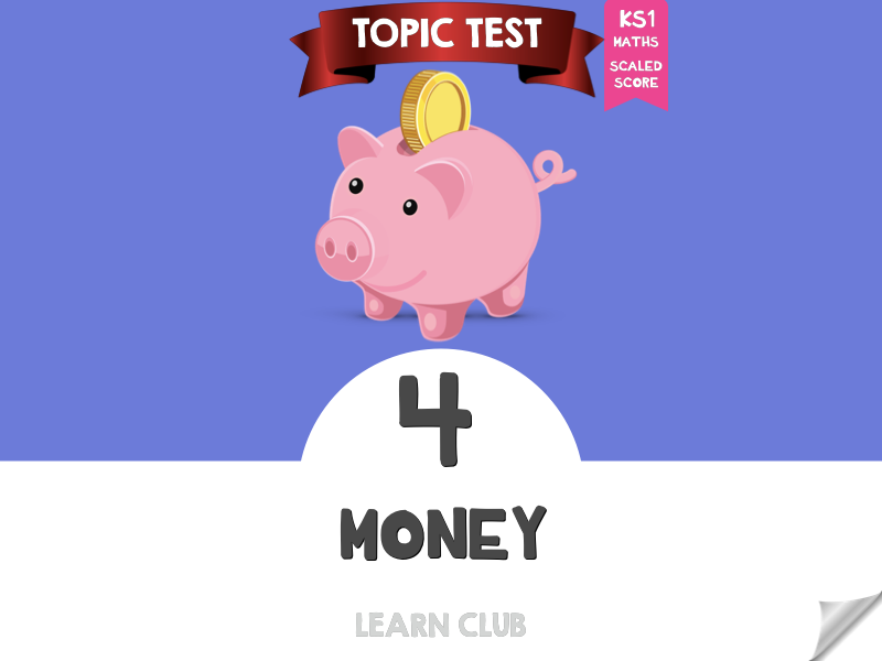 KS1 Maths Topic Test - Money