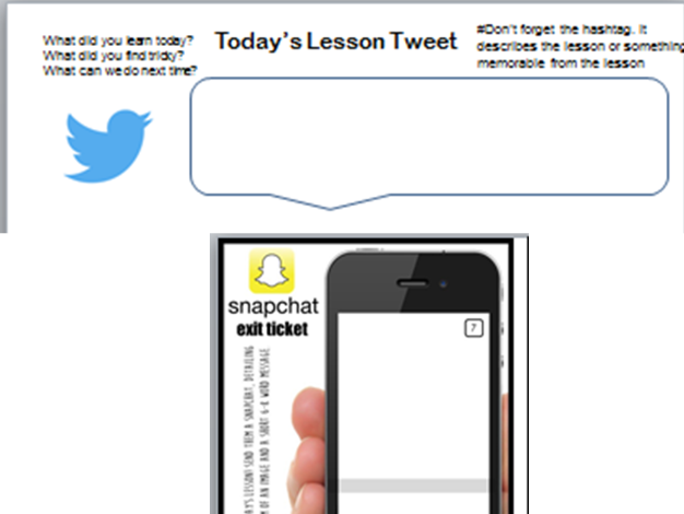 Twitter & Snapchat Plenary - AfL
