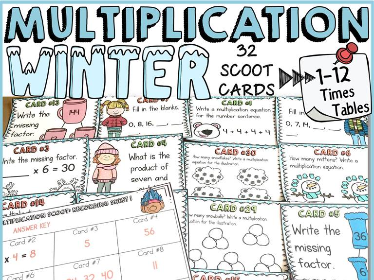 WINTER MULTIPLICATION SCOOT