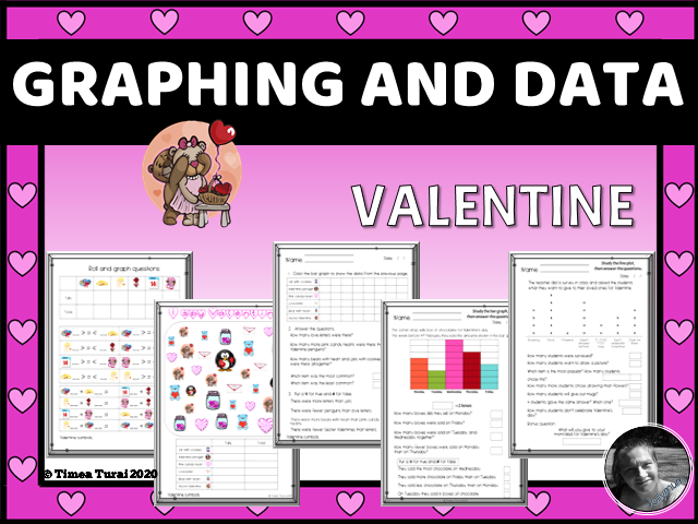 Graphing and Data -- Valentine's day