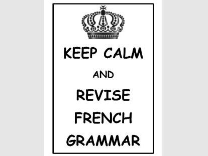 French GCSE Grammar Booklet