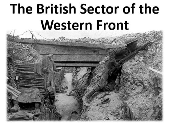 The British Sector of the Western Front
