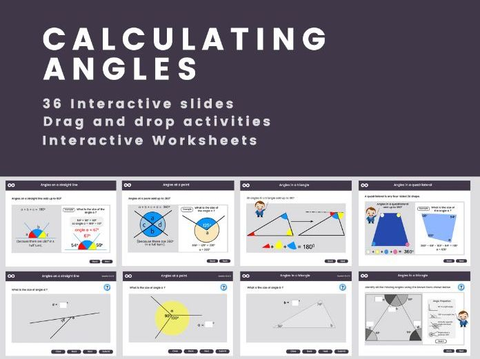 Calculating Angles - Year 6, Key stage 2