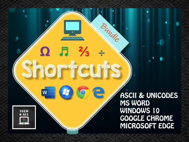 Shortcuts for your computer