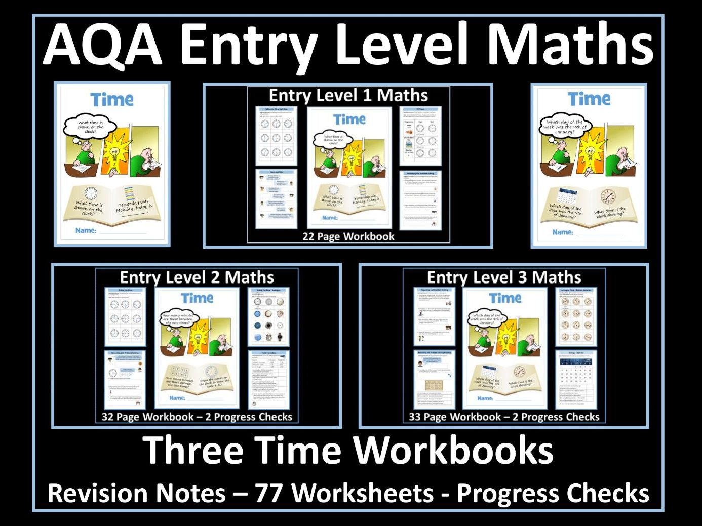 Time - AQA Entry Level Maths
