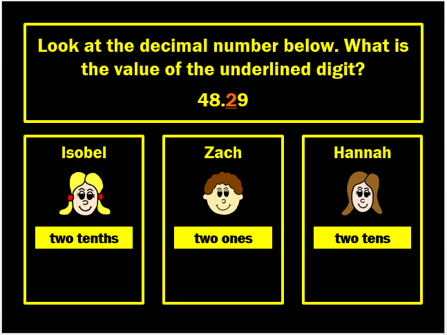 Decimal Place Value Powerpoint Game by Arithmetickx