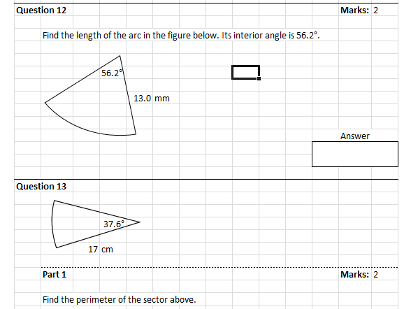 Measurement Test Generator for Year 9
