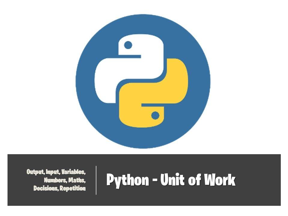 Python - Complete Unit of Work