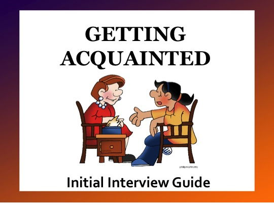 Initial Interview Guide