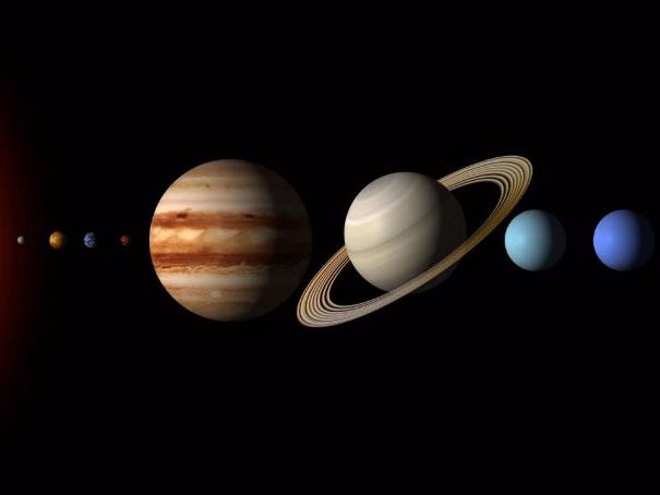 Summer Science Work - Make a scale model of the Solar System