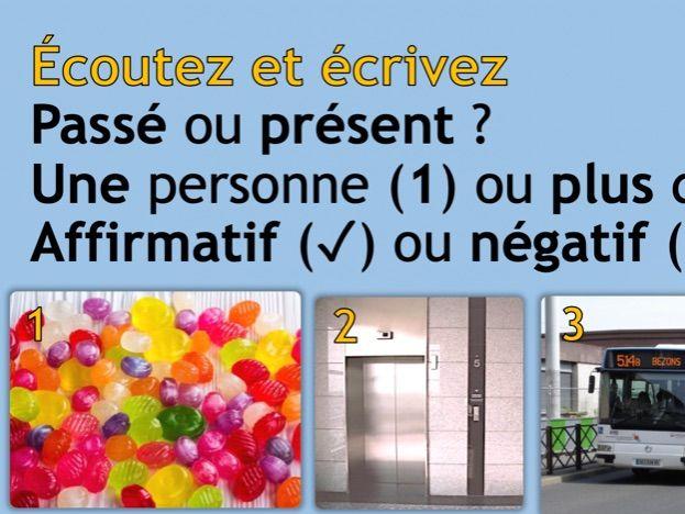 Perfect vs Present Tense (Y9/KS4)