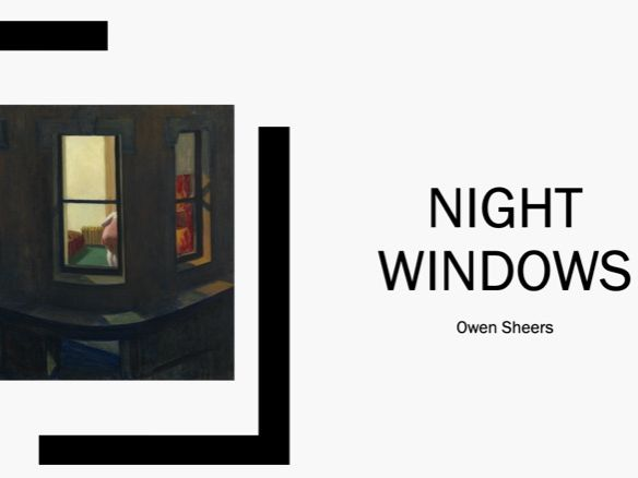 Night Windows by Owen Sheers - Skirrid Hill (AS English Literature)