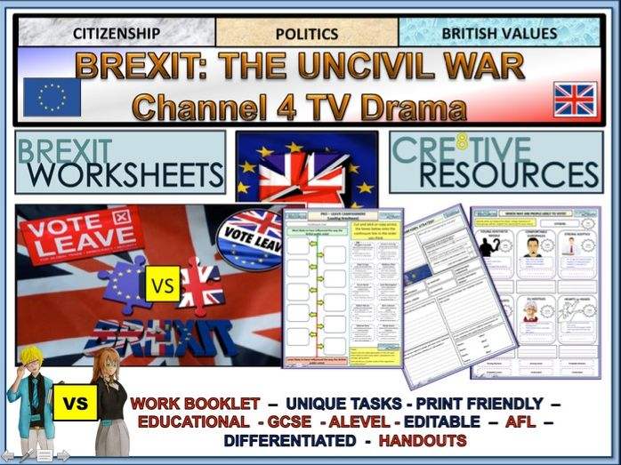 Brexit: The Uncivil War Channel 4 TV Booklet