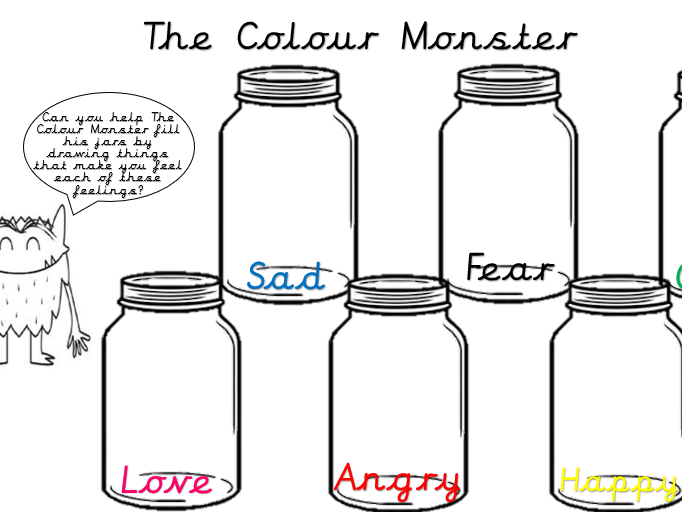 The Colour Monster Activity