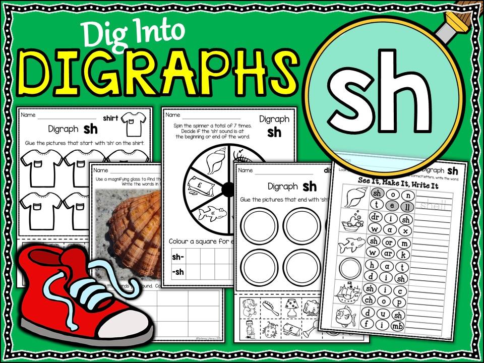 Phonics: Phonics Digraph SH