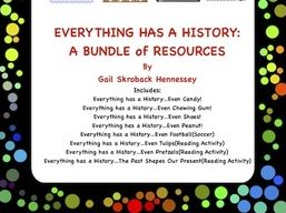 Everything Has a History....A Bundle of Resources!