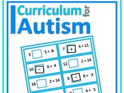 Missing Symbols Add & Subtract Within 20 Task Boards, Autism , SEND