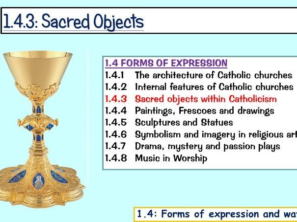 1.4.3: Sacred Objects (Edexcel)