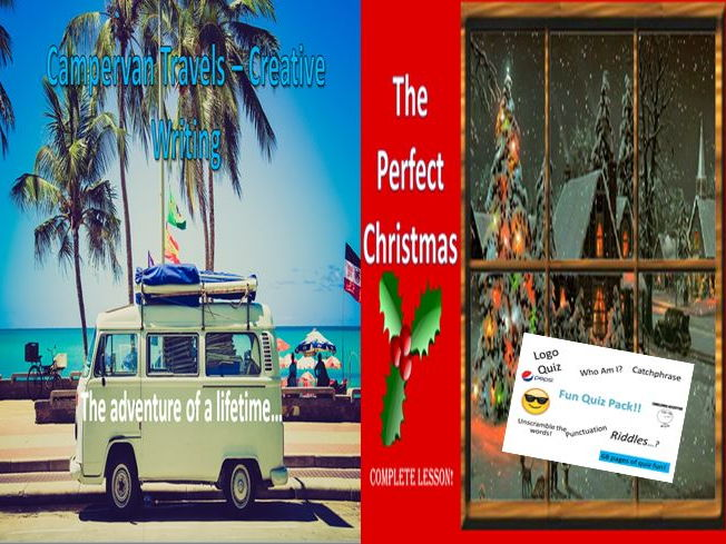 Campervan Travels and the Perfect Christmas with a Quiz Pack