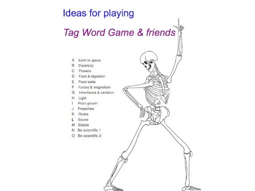 Ideas for Playing Tag Games & friends
