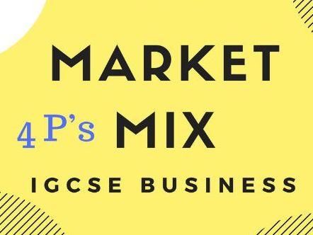 3.3-Marketing Mix IGCSE Business