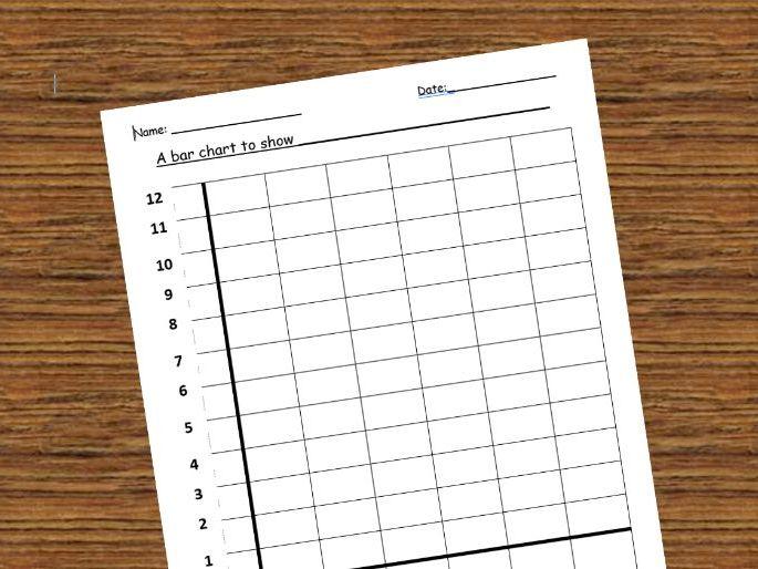 Blank Bar Chart Frame - KS1