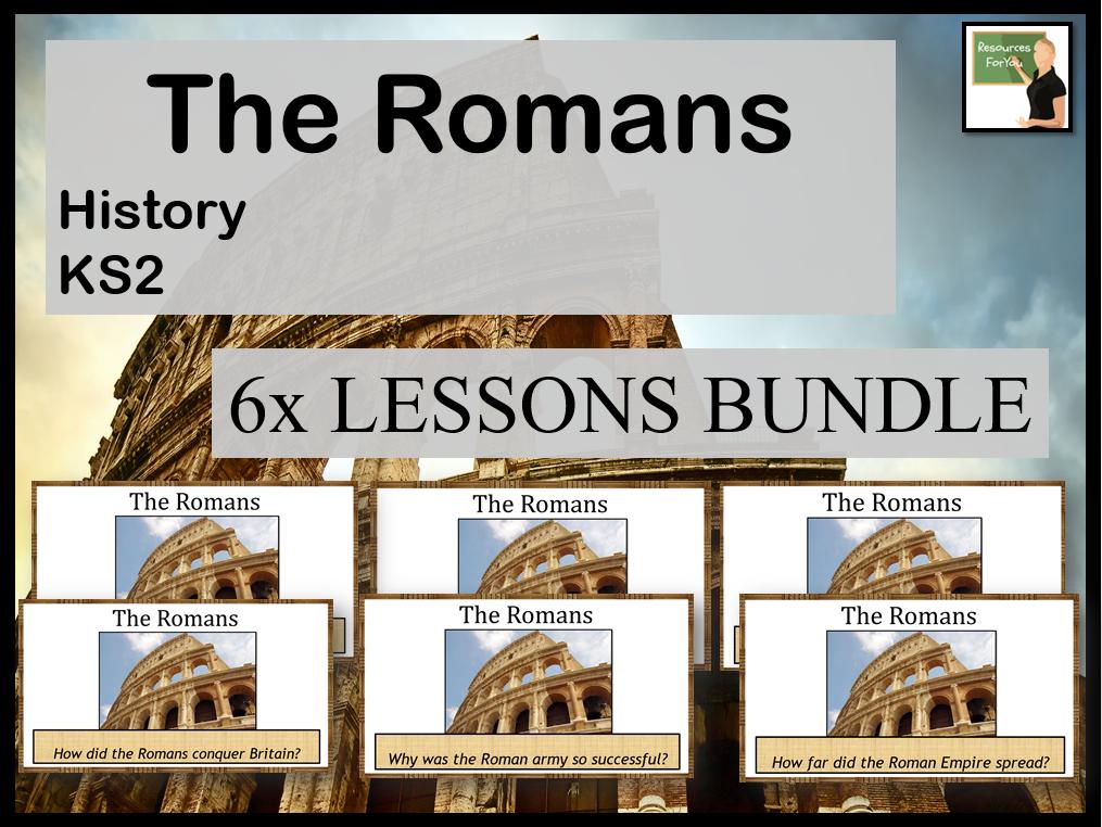 History The Romans KS2 BUNDLE!