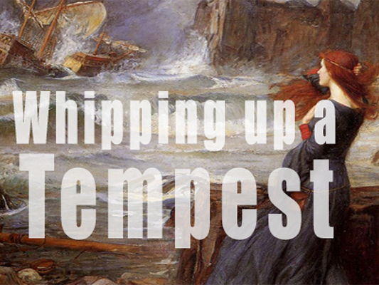 'Whipping up a Tempest': The plot of Shakespeare's 'The Tempest' in one lyric video