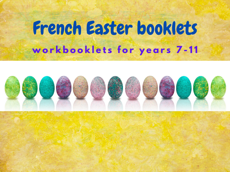 French Easter Booklets