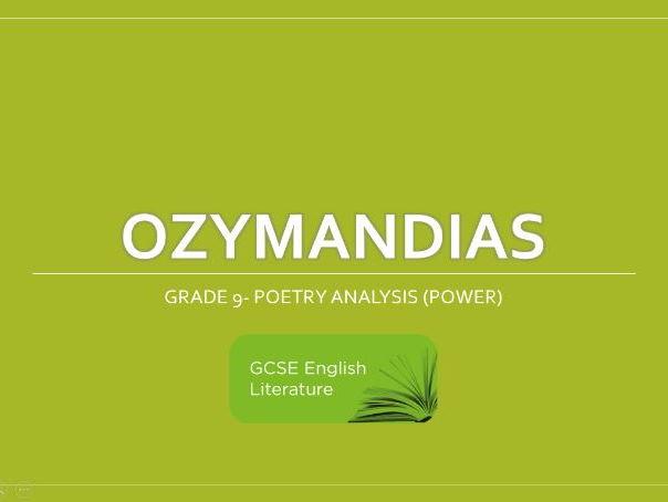 GCSE-EDUQAS- Ozymandias- Revision Notes- Grade 9