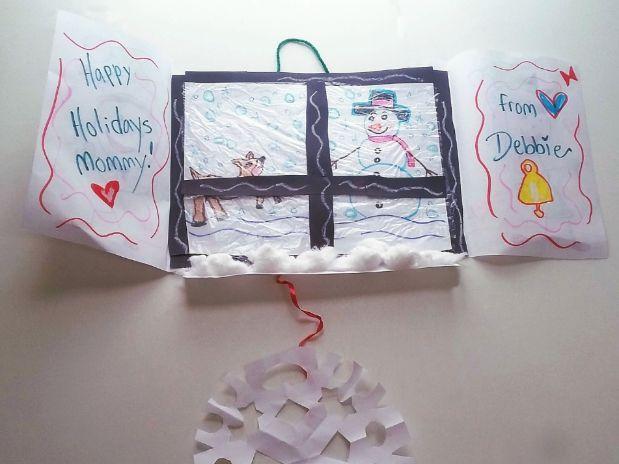 Winter Wonderland Window Snowflake Card