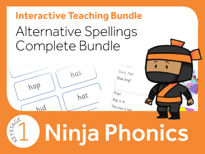 Phonics Alternative Spellings Complete Bundle