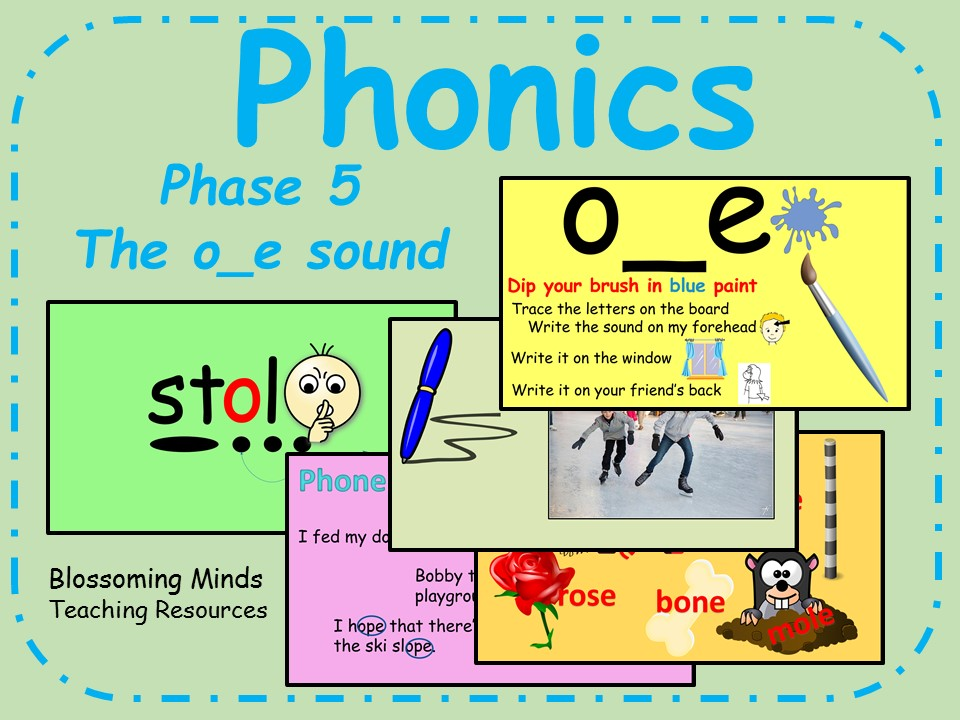 Printable Worksheets phonics worksheets phase 5 : Phonics phase 5 - Split digraphs - The o_e sound by ...