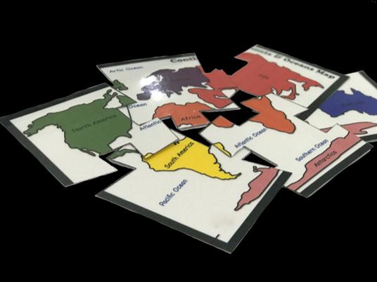 Continets Puzzle Set (6 & 15 pcs)