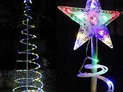 Battery powered outdoor christmas light