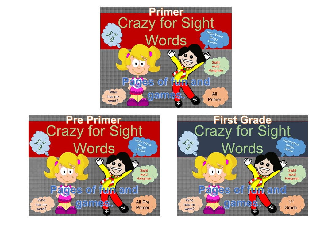 Back to School on Sight Word Crazy