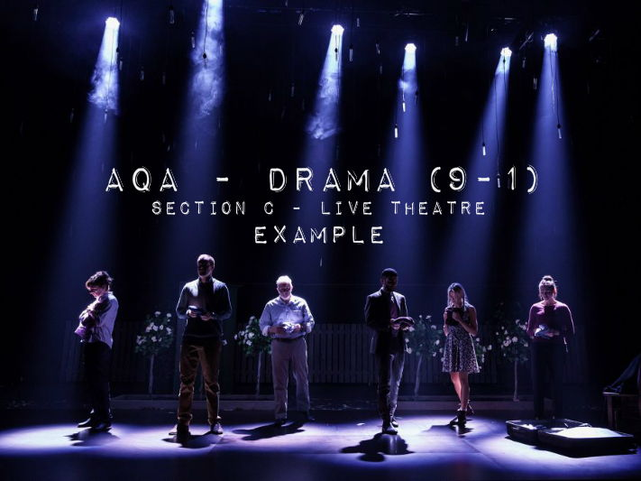 AQA Drama (9 - 1) - Live Theatre - Lighting Question - Example