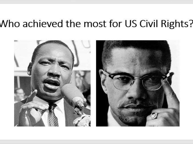 Who achieved most for US Civil Rights?