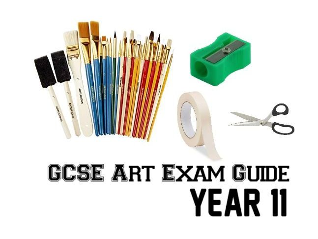 GCSE Art Exam Guide for year 11