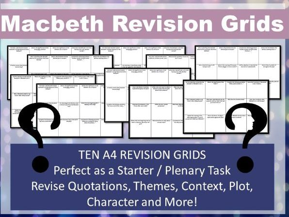 Macbeth Revision Grids